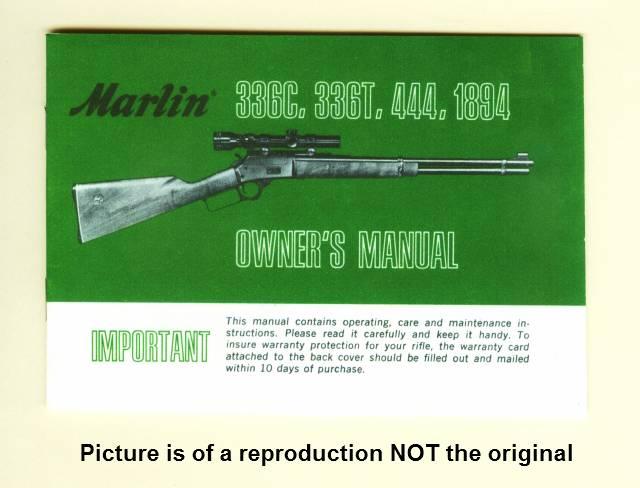 marlin 336 disassembly instructions