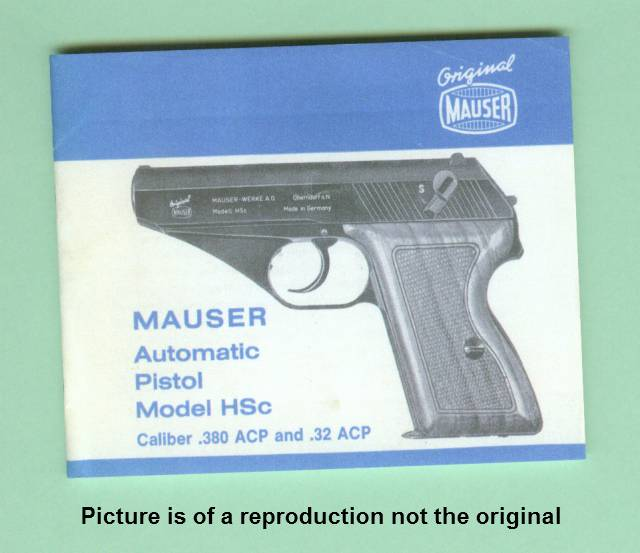 backgrounds buttons rh rediscovered shooting treasures com mauser hsc pistol manual mauser hsc manual of arms